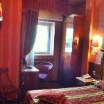 a tiny bedroom