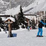 distance from ski station