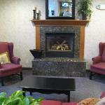 Lounge Fireplace area