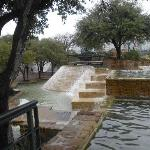 HemisFair water area after a rain, Feb 2012