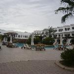 general view of central pool area