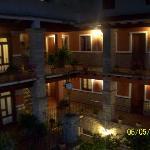 patio de noche