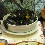 The mussels are good value and delicious as well