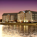 Homewood Suites by Hilton over scenic Legend Lake