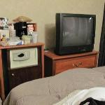 quarto do casal, com quarto dos filhos adjacentes: apertadinho, mas cama muito boa.