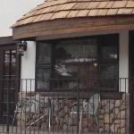 Front of restaurant.
