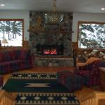 Denali Dome Home has several common areas to enjoy.
