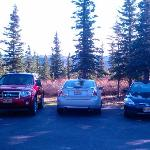 Rent cars and be picked up for free at Denali Dome Home.