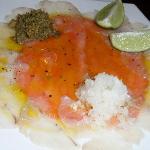 fish carpacio