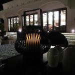 Candle light dining at Lattitude