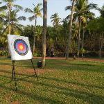 Archery by the backwaters