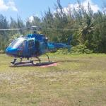 tahiti hélicoptére