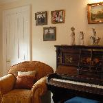 Piano for guests use