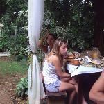 Breakfast al aire libre- increíble
