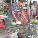 préparation des Pinacoladas