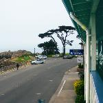 The view towards East from Borg's Motel, Monterey area