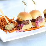 Mini Cheeseburger Sliders fro The Patio
