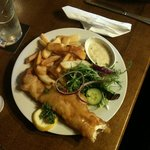 fish n chips freshly made even the Tartare sauce