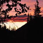sunrise at angel creek