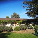 Meadowlark Inn by Solvang. One of the rose vine clas wings.