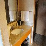 suite - sink inside the room