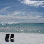 White sands of the Gulf