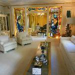 Salón de la casa de Graceland