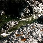 Wet rocks at Bear Hole