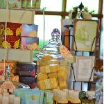 Heavenly scents from soy candles and French soaps
