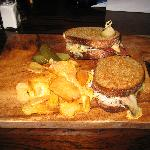 The Rueben Toasted Sandwich