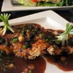 ginger and blackbean flounder