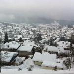 Blick vom Balkon der Villa Montara