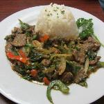 Spicy Beef Basil