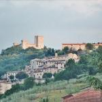 Die Burg Albornoz beherrscht Narni.