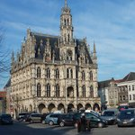 Town Hall of Oudenaarde at the Market