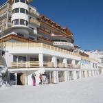 Albergo e deposito sci