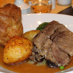 Superb roast beef