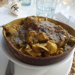 curry in a coconut shell