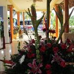 Lobby looking towards entrance