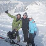 Skitour auf einen Gipfel