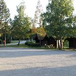 Vista generale della zona bungalow
