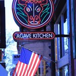 Agave Kitchen sign