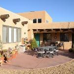 Desert Lily courtyard