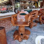 Beautiful Wood carved chairs