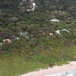 Overhead view of Nosara Beach House