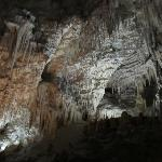 Limestone formations in Aranui Cave
