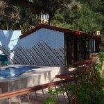 Annexe de la piscine et réception