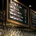 Scarlett Wine Bar & Restaurant - wine menu
