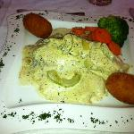 Tilapia with dill