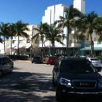 estacionamiento con parquimetro en hotel, 10 usd x dia